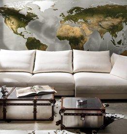 Munich Design Fotobehang Komar Wereldkaarten Behang World