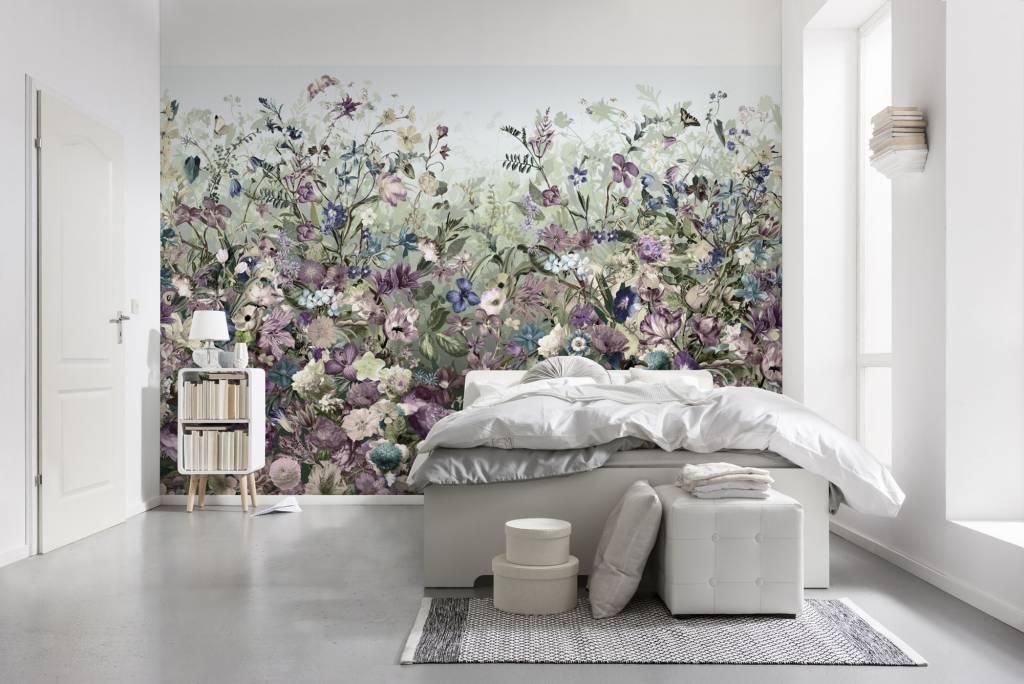 Flower & Textures Edition 1 Fotobehang Komar Bloemen Behang Botanica
