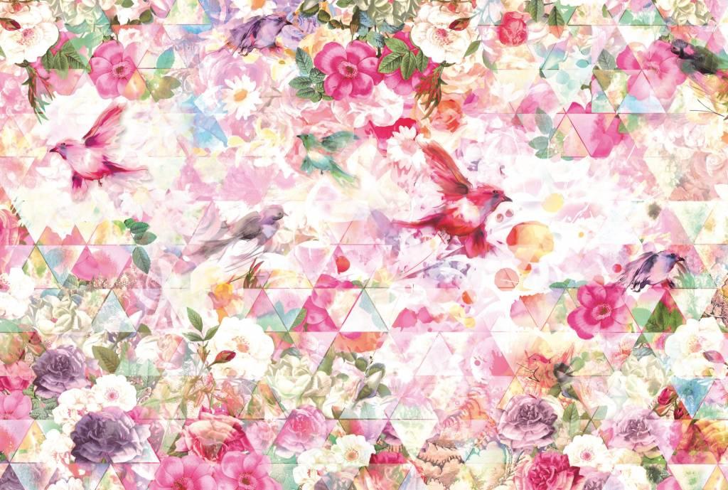 Into Illusions Edition 2 Fotobehang Komar Bloemen Behang Prisma