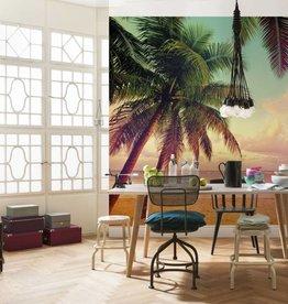 Flower & Textures Fotobehang Komar Natuur Behang Miami