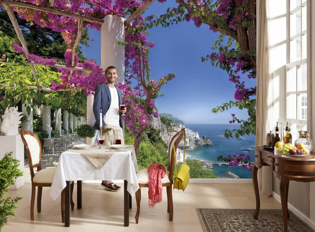Flower & Textures Edition 1 Fotobehang Komar Natuur Behang Amalfi