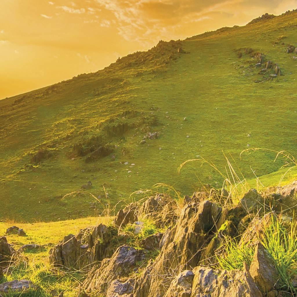 Scenics Edition 2 Fotobehang Komar Natuur Behang Mountain Morning
