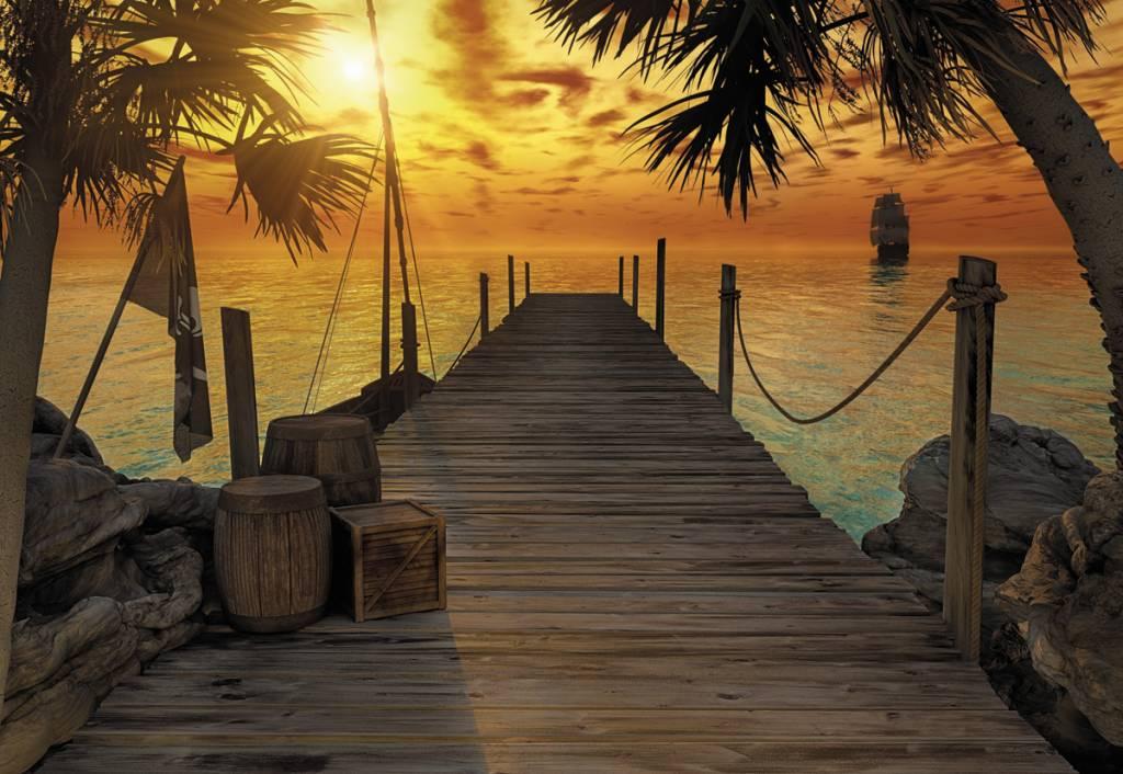 Scenics Edition 2 Fotobehang Komar Natuur Behang Treasure Island