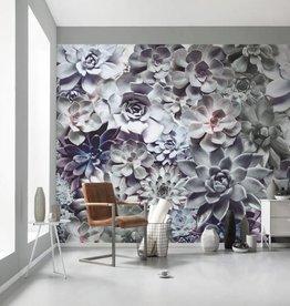 Flower & Textures Fotobehang Komar Bloemen Behang Shades