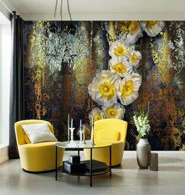 Flower & Textures Fotobehang Komar Bloemen Behang Serafina