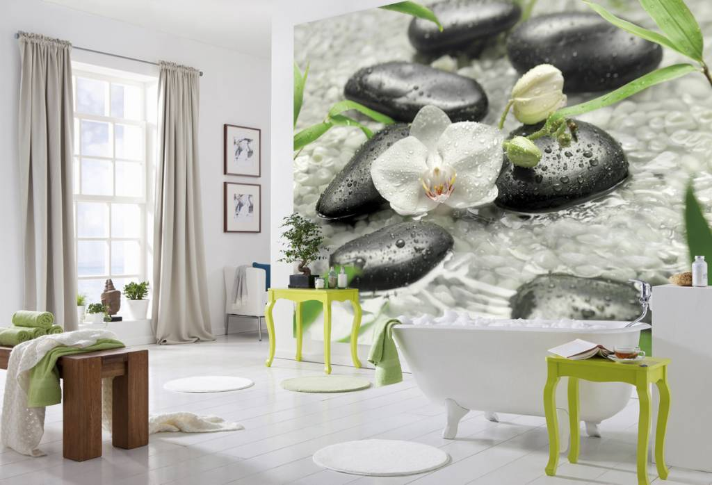 Flower & Textures Edition 1 Fotobehang Komar Bloemen Behang Pure