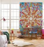 Flower & Textures Edition 1 Fotobehang Komar Bloemen Behang Happiness