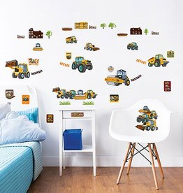 Walltastic Muursticker Kinderkamer Walltastic M - My First JCB