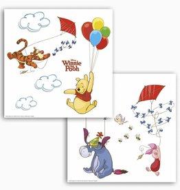 Disney Raamsticker Kinderkamer Komar Disney Winnie Pooh