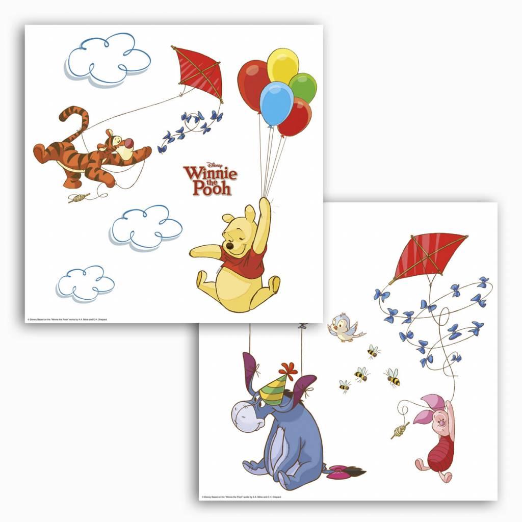 Raamstickers Voor Kinderkamer.Raamsticker Kinderkamer Komar Disney Winnie Pooh Rap Besteld Rap