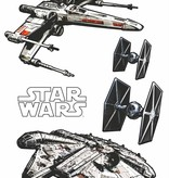 Disney Edition 1 Muursticker Kinderkamer Komar - Spaceships