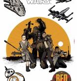Disney Edition 1 Muursticker Kinderkamer Komar - Resistance