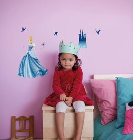 Disney Edition 1 Muursticker Kinderkamer Komar - Princess Dream