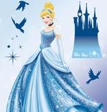 Disney Edition 1 Muursticker Kinderkamer Komar - Princess Dream