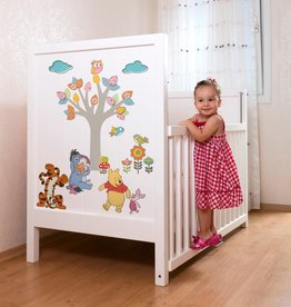 Disney Muursticker Kinderkamer Komar - Winnie Pooh Nature Lovers