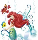 Disney Edition 1 Muursticker Kinderkamer Komar - Arielle