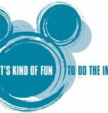 Disney Edition 1 Muursticker Kinderkamer Komar - It's kind of fun