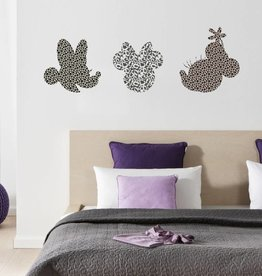 Disney Edition 1 Muursticker Kinderkamer Komar - Minnie Art