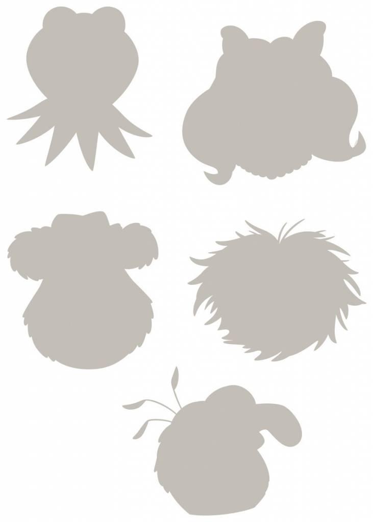 Disney Edition 1 Muursticker Kinderkamer Komar - Muppets