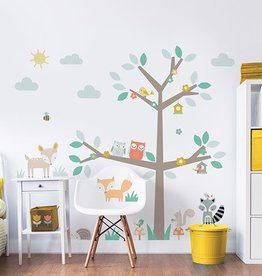 RAP Muursticker Kinderkamer Walltastic XXL - Woodland