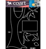 Coart Muursticker Coart - Familieboom (Grijs)