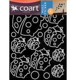 Coart Muursticker Coart - Lieveheersbeestjes