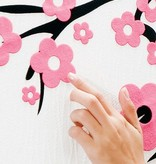 Coart Muursticker Coart - Horizon  bloemen
