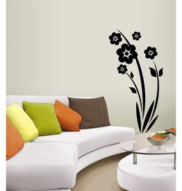 Coart Muursticker Coart - Horizon  bloemen