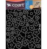 Coart Muursticker Coart - Bloemen (licht Roze)