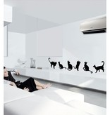 Coart Muursticker Coart - Katten