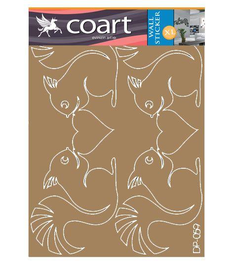 Coart Muursticker Kinderkamer Coart - Eekhoorns
