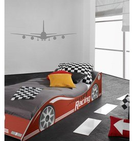 Coart Muursticker Kinderkamer Coart - Airplane (Grijs)