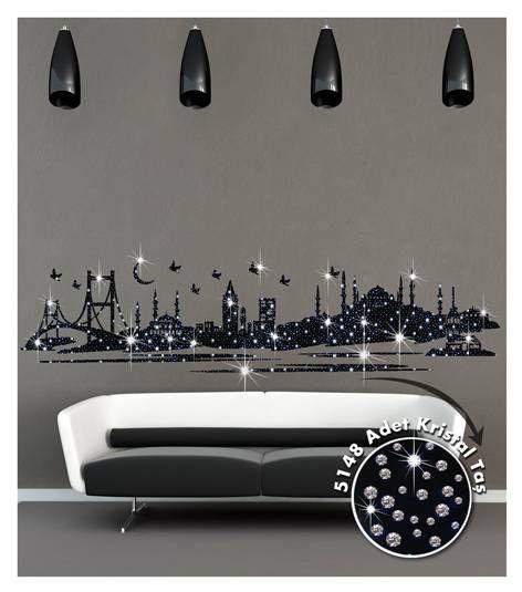 Coart Muursticker Coart - Istanbul Kristal