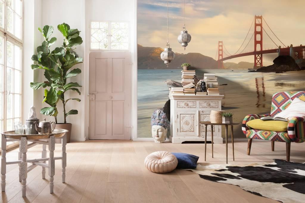 Into Illusions Edition 2 Fotobehang Komar Steden behang Golden Gate