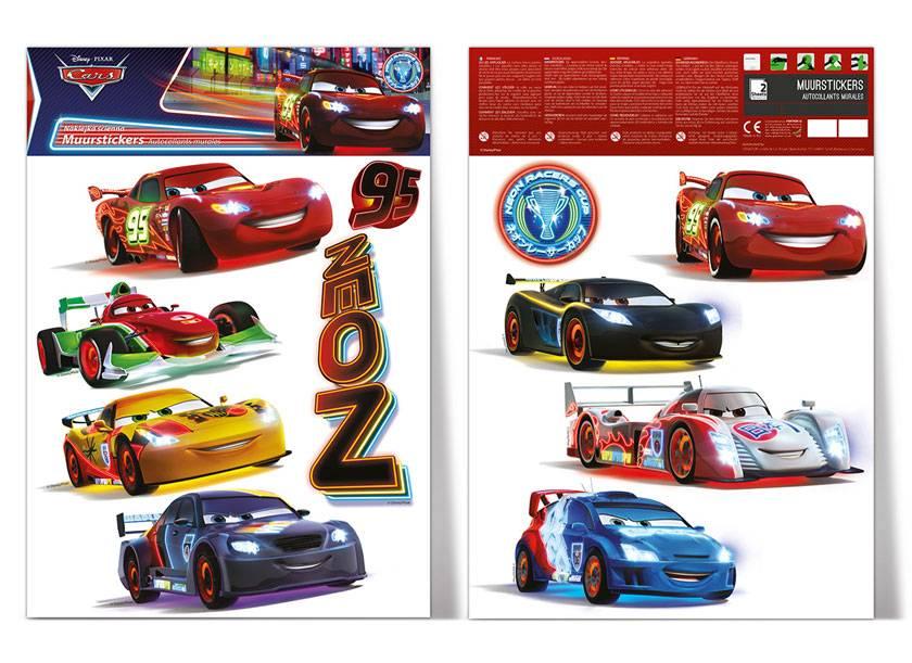 Imagicom Muursticker Imagicom - Disney Cars