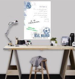 Imagicom Muursticker Imagicom - Real Madrid White Board