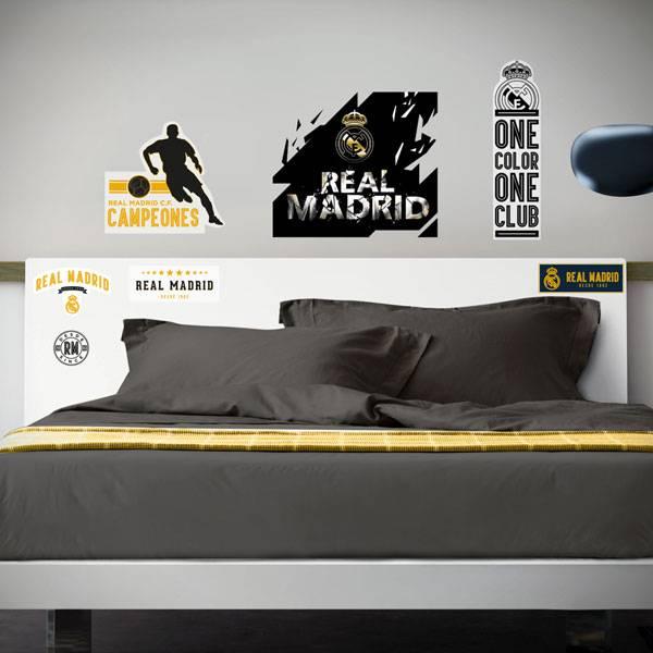 Imagicom Muursticker Imagicom - Real Madrid Logo Premium