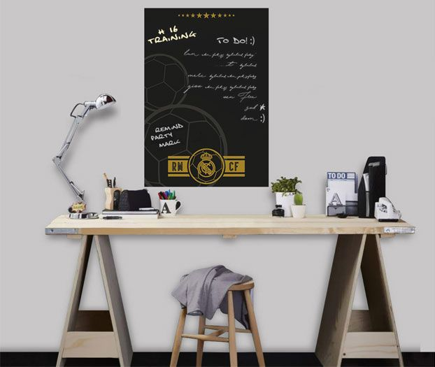 Imagicom Muursticker Imagicom - Real Madrid Black Board