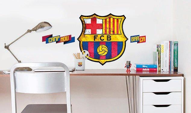 Imagicom Muursticker Imagicom - FC Barcelona Logo Groot