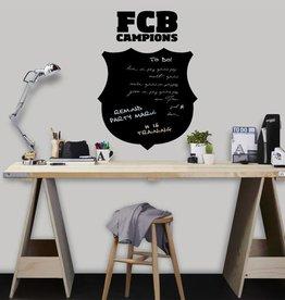 Imagicom Muursticker Imagicom - FC Barcelona Board Black