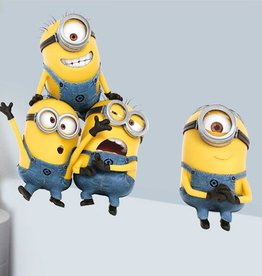 Imagicom Muursticker Imagicom - Minions Finger in Eye