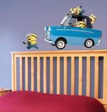 Imagicom Muursticker Imagicom - Minions Auto