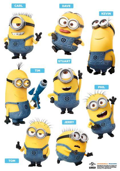 Imagicom Muursticker Imagicom - Minions 16 Friends