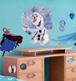 Imagicom Muursticker Imagicom - Disney Frozen Olaf & Elsa