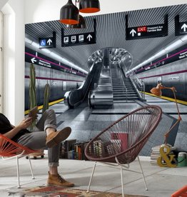Scenics Edition2 Fotobehang Komar - Steden behang Subway