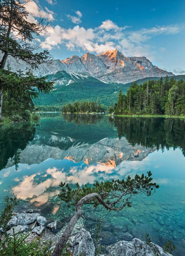 National Geographic Edition 1 Fotobehang Komar - Natuur behang Mirror Lake