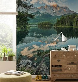 National Geographic Edition 1 Fotobehang Komar - Natuur behang Mirror Lake