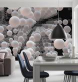 Flower & Textures Edition 1 Fotobehang Komar - Stijlen behang 3D Spherical