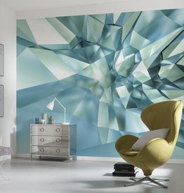Flowers & Textures Fotobehang Komar - Stijlen behang 3D Crystal Cave