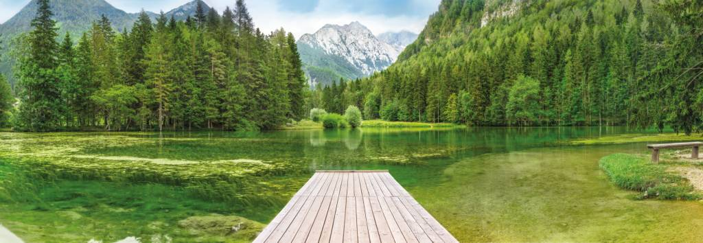 National Geographic Edition 1 Fotobehang Komar - Natuur behang Green Lake